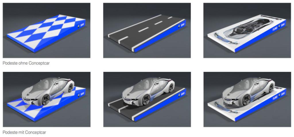 BMW-Podest