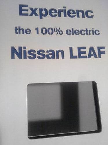 Nissan Ladestation